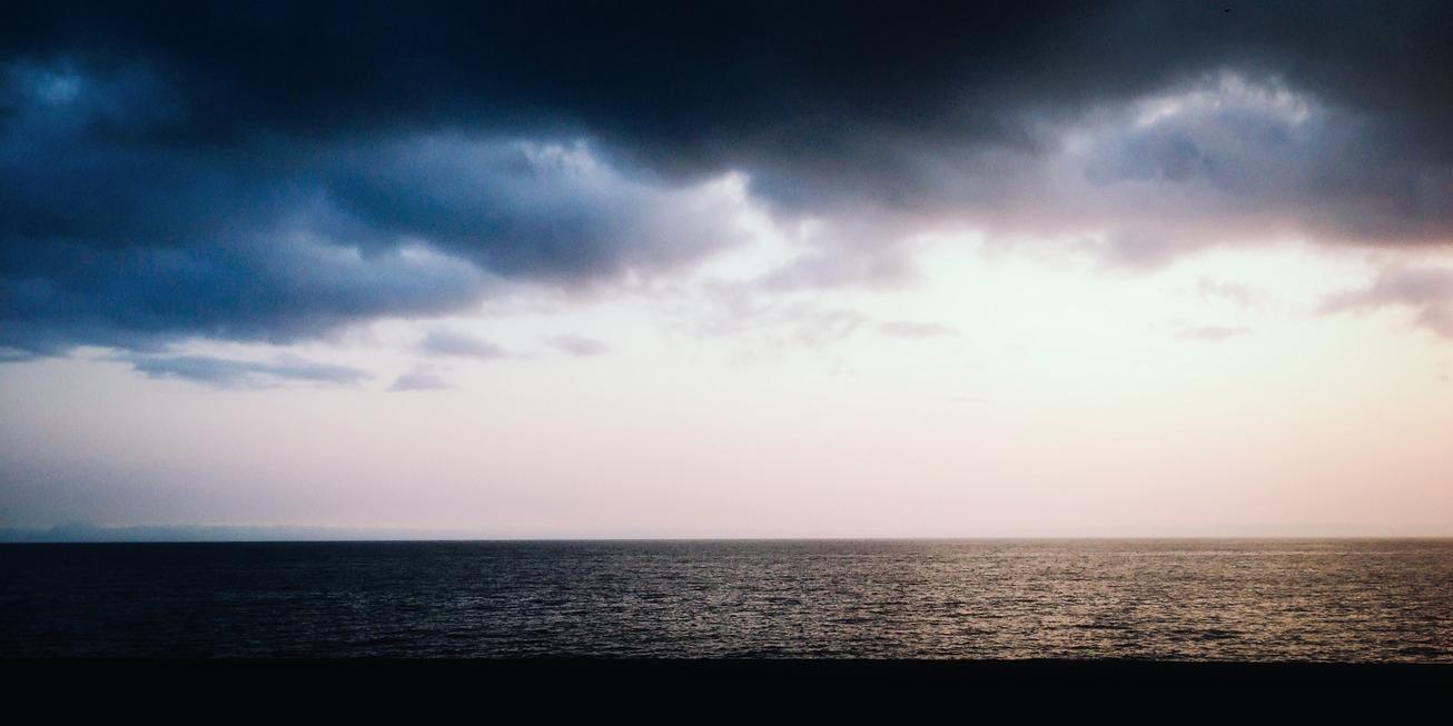 Mar violento